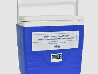 No Não-Carnaval, caixas térmicas da Ambev transportarão vacinas contra Covid no lugar de cerveja