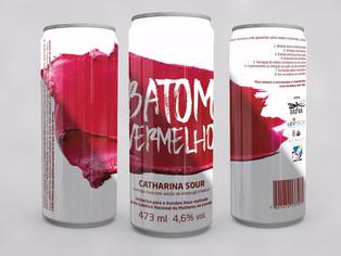 Rótulo Batom Vermelho é primeiro passo para a criação da União das Confrarias Cervejeiras Femininas