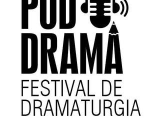 Aberta inscrições para o 1º Festival de Dramaturgia de Podcast