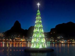 Rio de Janeiro e Niterói acendem suas árvores de Natal