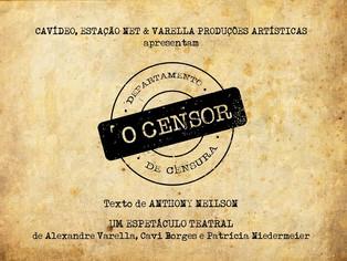 'O Censor' leva encenação de teatro para dentro do cinema