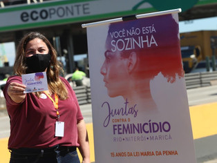 Niterói, Rio de Janeiro e Maricá se unem contra o feminicídio
