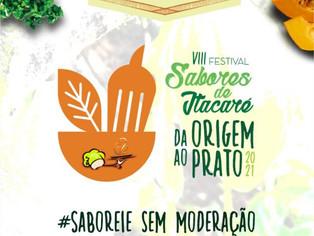 Itacaré promove festival gastronômico presencial
