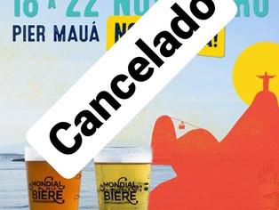Cancelada a edição 2020 do Mondial de la Bière Rio