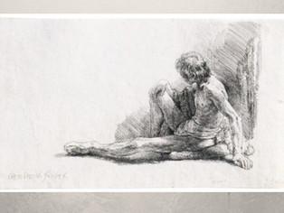 Gravuras originais de  Rembrandt em exposição em São Paulo