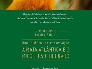 Livro conta a história do empenho pela conservação do primata que quase foi extinto, no país