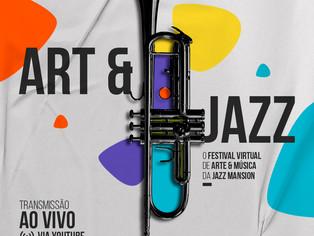 Festival reúne arte e jazz em transmissões diretas do Theatro Municipal de São Paulo.