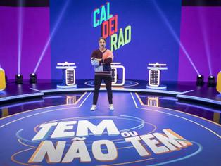A estreia de Marcos Mion no 'Caldeirão' da Globo