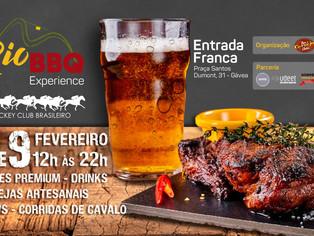Rio BBQ Experience leva cerveja artesanal, churrasco e música para o Jockey Club
