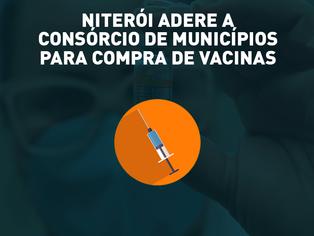 Niterói adere consórcio público para aquisição de vacinas contra Covid-19