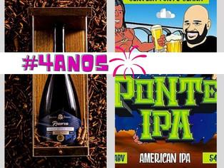 Cervejarias Araribóia e Doutor Duranz celebram seus quatro anos com lançamentos