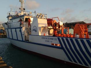 UFF recebe navio escola para pesquisas no litoral sudeste do Brasil