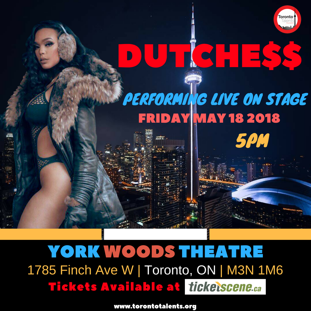 DUTCHESS PERFORMS AT YORK THEATER