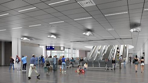 Rome Airport Pier C