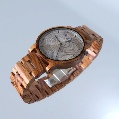 Stock & Stain wooden Watch