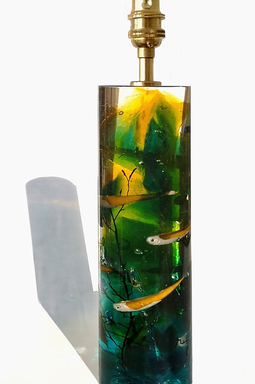 Ocean fish lamp
