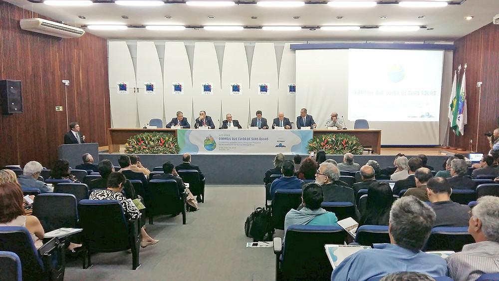 Meio Ambiente realiza seminário para discutir revitalização das bacias hidrográficas brasileiras