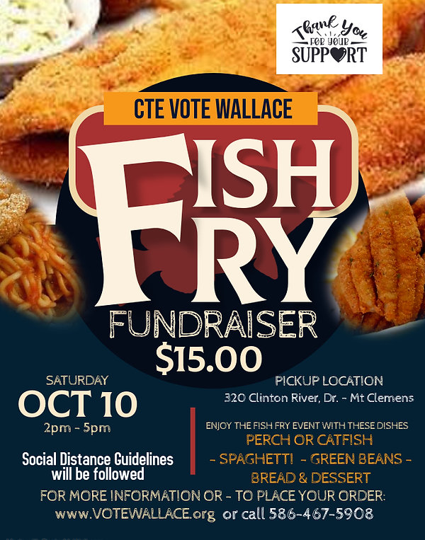 Copy of Fish Fry Flyer - Made with Poste
