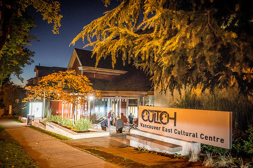 The Cultch Historic and Lab Entrance