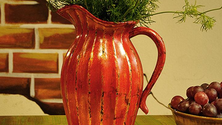 Bình hoa gốm sơn mài Good Homes - Phú Quý Affluence - Rustic Style