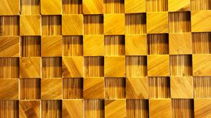 Nội thất tre: Trang trí nội thất với mosaic 3D vật liệu tre ghép thanh