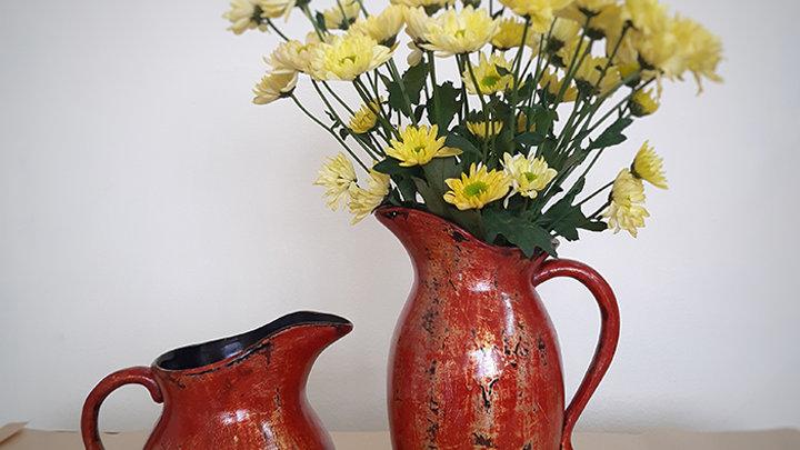 Bộ 2 lọ hoa gốm sơn mài Good Homes - Phú Quý Affluence - Rustic Style
