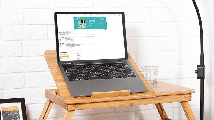 BAMBOO | Bàn laptop đa năng cao cấp 100 tre tự nhiên Good Homes – bàn laptop