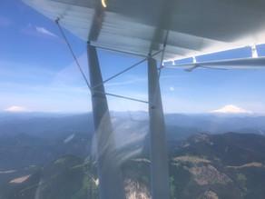 Flight around Portland