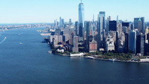 New York City by air