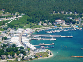 Mackinac Island MI area...  Who knew?