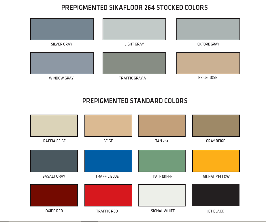 Sample Colors Uhl Stonework Amp Epoxy Floors Llc