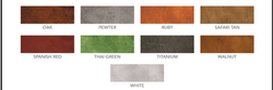 ECO STAIN COLOR CHART - 3