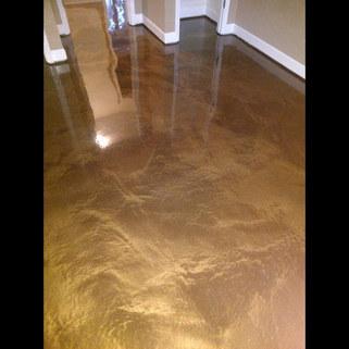 Sandbar Metallic Epoxy in Apartment