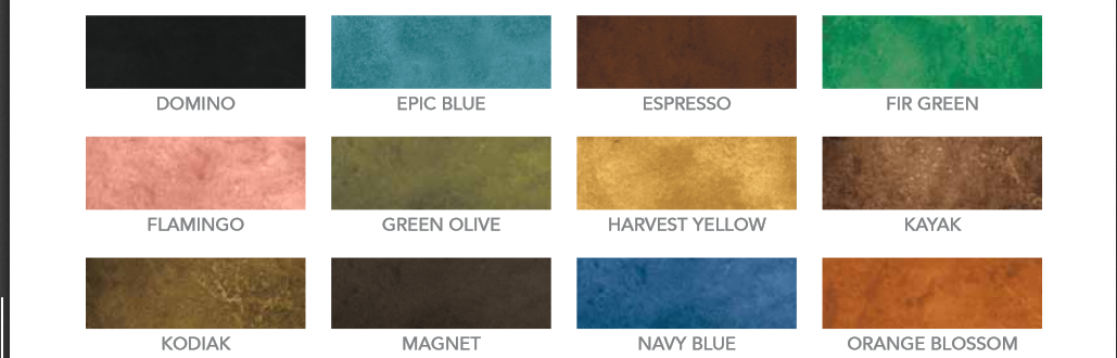 ECO STAIN COLOR CHART - 2