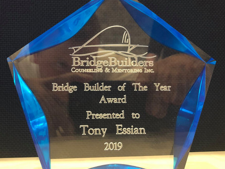 Anthony Essian Receives Bridge Builder Award