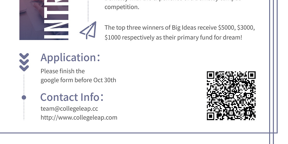 Big Ideas Competition