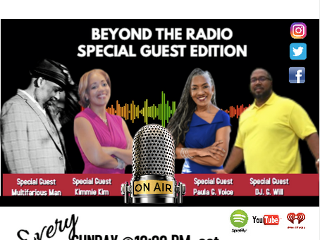 Multifarious Man on Beyond The Radio Show