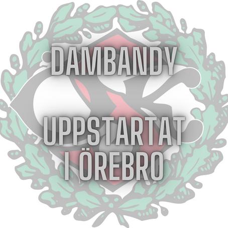 Örebro igång med dambandy