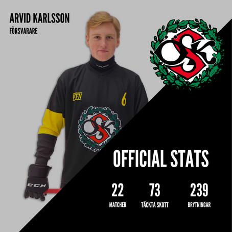 Arvid Karlsson kör vidare