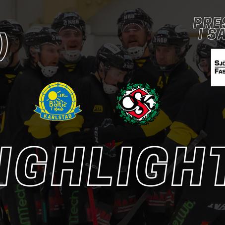 PLAY: Highlights Boltic - Örebro