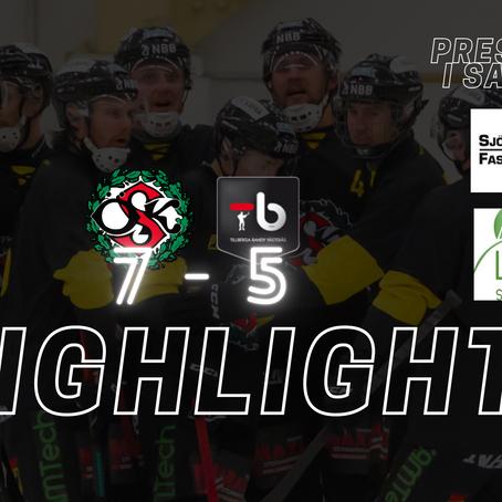 PLAY: Highlights ÖSK - TB
