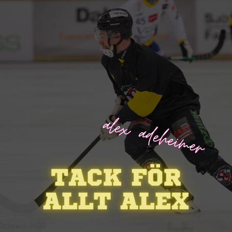 Alex Adeheimer flyttar hem