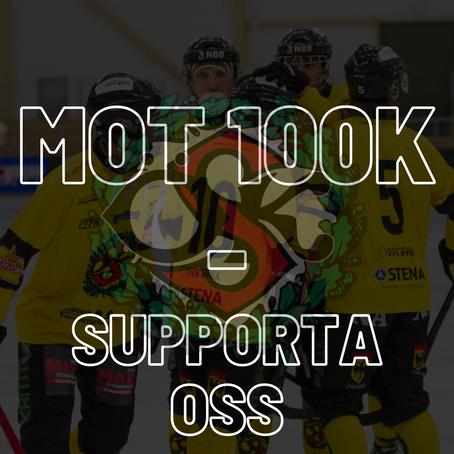 Mot 100 000 - Stötta klubben