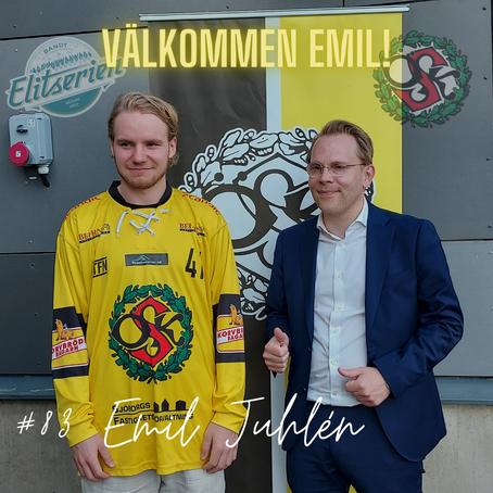 Emil Juhlén till Örebro