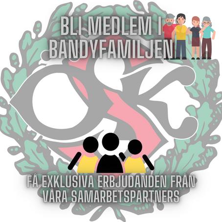 Stötta ÖSK Bandy - Bli medlem