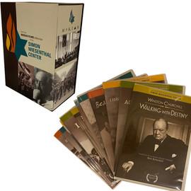 MORIAH FILMS   creative direction + design project + print management  dvd library box set branding color palette, design packaging unit including 12 dvd covers