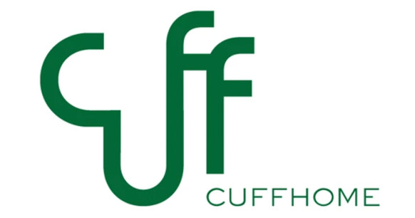 Client: Cuffhome Design  I wanted to create a logo that was sexy in shape, connected in the typography, all inspired by the beautiful shapes cuff home creates.