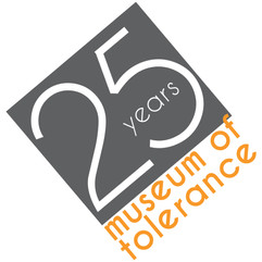 MUSEUM OF TOLERANCE  branding + creative direction  anniversary logo