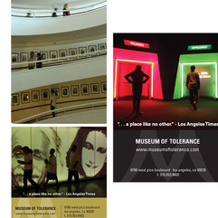 MUSEUM OF TOLERANCE  creative direction + design  print/digital advertising + photo shoot