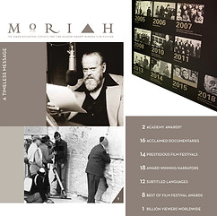 MORIAH FILMS  creative direction + design project + print management  fundraising brochure 24 page perfect bound brochure + donor names as insert